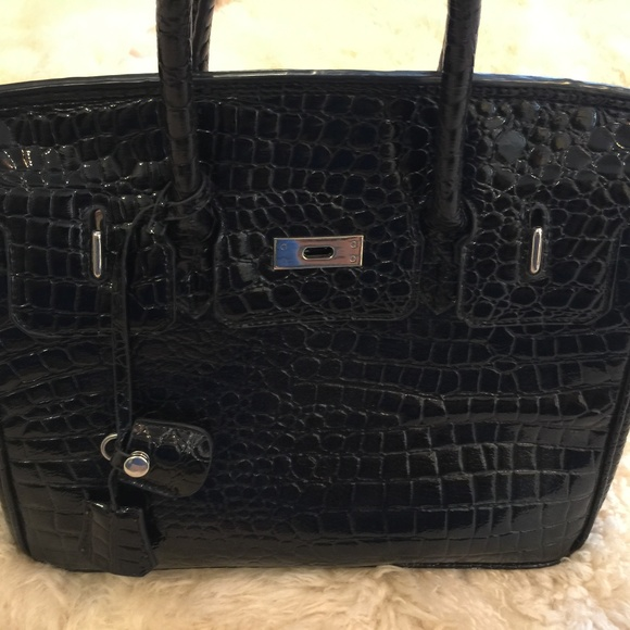348709a8810 Hermes Handbags - Glossy Black Crocodile Birkin Hermès Bag purse